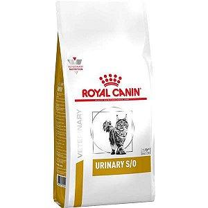 Ração Royal Canin Veterinary Diet para Gatos Urinários Urinary S/O Feline