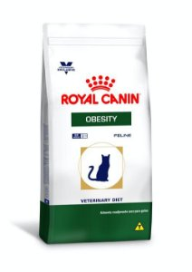 Ração Royal Canin Veterinary Diet para Gatos Obesos Obesity Feline 1,5kg