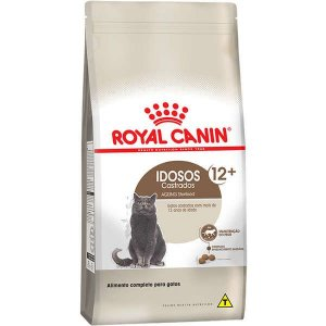 Ração Royal Canin para Gatos adultos Castrados Acima de 12 Anos Sterilised idosos 12+