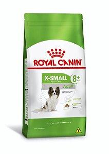 Ração Royal Canin para Cães Adultos Miniaturas acima de 8 anos X-Small Adult 8+