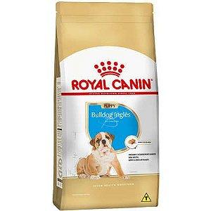 Ração Royal Canin Raças Específicas para Cães Filhotes Bulldog Inglês Puppy 12kg