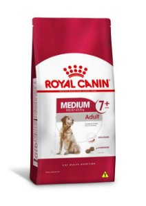 Ração Royal Canin para Cães Medium Adult 7+ 15kg