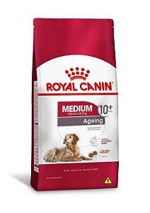 Ração Royal Canin para Cães Adultos Raças Médias Medium Ageing 10+ 15kg