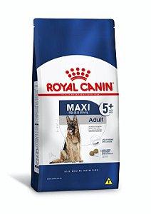 Ração Royal Canin para Cães Adultos Raças Grandes Maxi 5+ 15kg