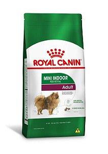 Ração Royal Canin para Cães Adultos Raças Pequenas Mini Indoor Adult