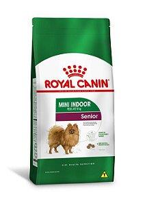 Ração Royal Canin para Cães Adultos Raças Pequenas Mini Indoor Senior