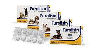 Furolisin Diurético com 10 Comprimidos