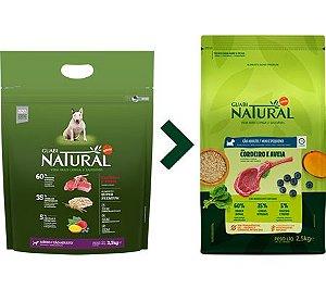 Ração Guabi Natural para Cães Adultos Porte Médio Sabor Cordeiro e Aveia