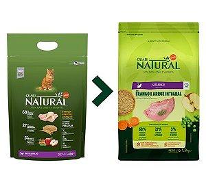 Ração Guabi Natural para Gatos Adultos Sabor Frango e Arroz Integral