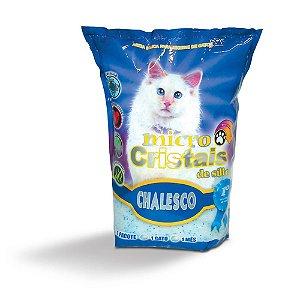 Areia Silica Chalesco Micros Cristais para Gatos 1.8kg