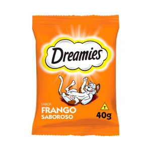 Dreamies Petisco para Gatos Adulto Frango 40g