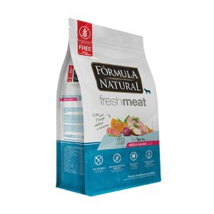 Fórmula Natural Fresh Meat Cães Light Portes Médio e Grande