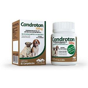 Condroton Regenerador Articular Condroitina Comprimidos Vetnil