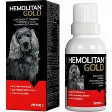 Hemolitan Gold Suplemento Vitaminico Cães e Gatos Vetnil
