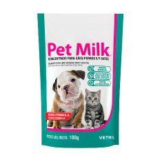 Pet Milk Leite em Pó para Cães Filhotes Vetnil