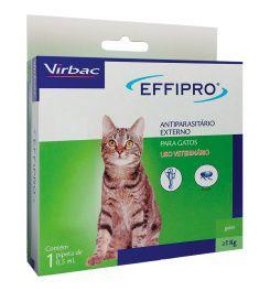 Effipro Antiplugas para Gatos Acima de 1Kg 0,5mL Virbac
