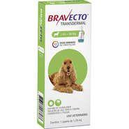 Bravecto Antipulgas e Carrapatos para Cães de 10 a 20kg 500mg 1 Pipeta 1,79mL Msd