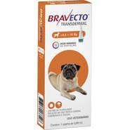 Bravecto Antipulgas e Carrapatos para Cães de 4,5 a 10Kg 250mg 1 Pipeta 0,89mL Msd