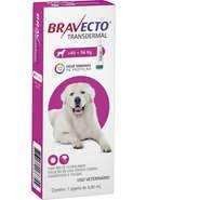 Bravecto Antipulgas e Carrapatos para Cães de 40 a 56Kg 1400mg 1 Pipeta 5mL Msd