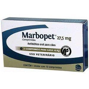 Marbopet Antibiótico 27.5mg com 10 Comprimidos