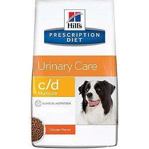 Ração Hill's Prescription Diet c/d Multicare para Cães Adultos - Cuidado Urinário 3,8kg