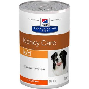 Ração Hill's Prescription Diet Lata k/d para Cães Adultos - Cuidado Renal 370g