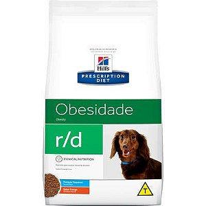 Ração Hill's Prescriptions Diet r/d Pedaços Pequenos para Cães Adultos Obesos - Redução de peso