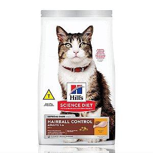 Ração Hill's Science Diet para Gatos Adultos - Controle de Bolas de Pelo