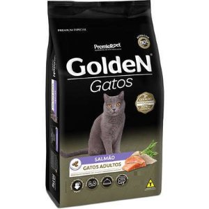 Ração Golden Formula para Gatos Adultos Salmão