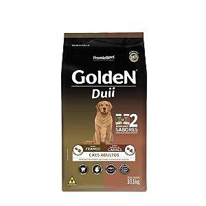 Ração Golden Duii para Cães Adultos Carne e Frango 10kg