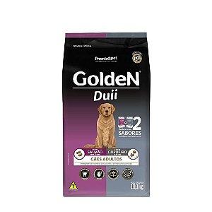 Ração Golden Duii para Cães Adultos Salmão e Cordeiro 10kg