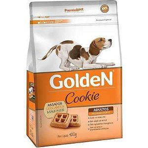 Biscoito Golden Cookie para Cão Adultos Porte Pequeno 400g
