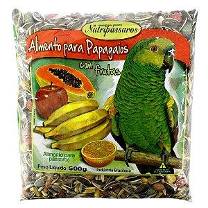 Nutripassaros Mistura Papag Frutas 500g