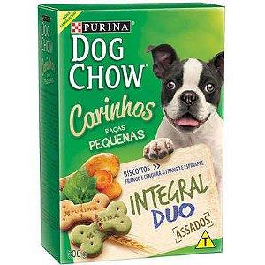 Dog Chow Carinhos Biscoito Integral Duo para Raças Pequenas