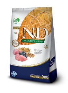 Ração ND N&d Ancestral Grain Low Grain para Gatos Adultos Cordeiro