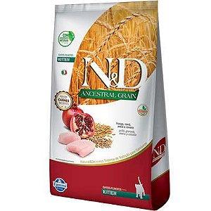 Ração ND N&d Ancestral Grain Low Grain para Gatos Filhotes Frango