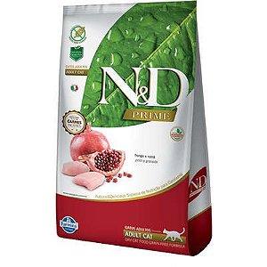 Ração ND N&d Prime Grain Free para Gatos Adultos Frango