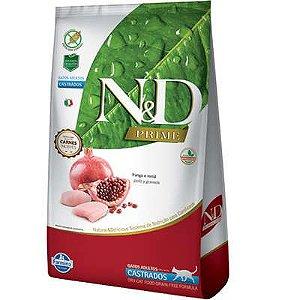 Ração ND N&d Prime Grain Free para Gatos Adultos Castrado Frango