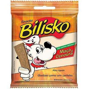 Bilisko Petisco para Cães Bifinho Maça e Cenoura