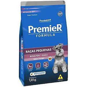 Ração Premier Formula para Cães Adultos Raças Pequenas Sabor Frango