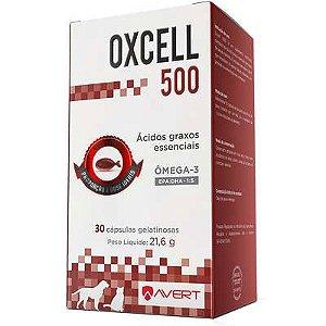 Suplemento Avert Oxcell 500 para Cães e Gatos 30 Capsulas 21,6g