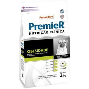 Ração Premier Nutrição Clínica para Cães Pequeno Porte Obesidade