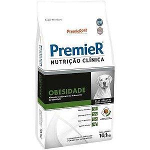 Ração Premier Nutrição Clínica para Cães Médio e Grande Porte Obesidade 10,1kg