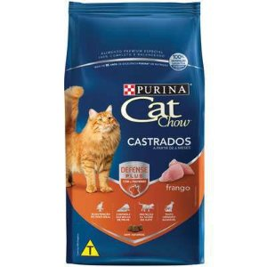 Cat Chow Defense Plus Adulto e Filhote Castrados