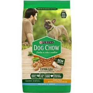 Dog Chow Extra Life Adulto Mini e Pequeno frango