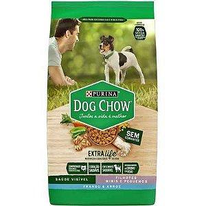 Dog Chow Extra Life Filhote Mini e Pequeno Frango