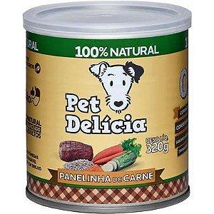 Ração Úmida Pet Delícia Cães Natural Panelinha de Carne