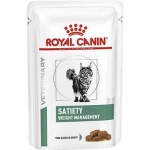 Ração Úmida Royal Canin Veterinary Diets para Gatos Obesos Satiety Weight Management Feline 85g