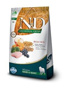 Ração ND N&d Selection Ancestral Grain Low Grain para Cães Adultos Maxi e Giant Raças Grandes 15kg
