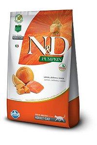 Ração ND N&D Pumpkin Grain Free para Gatos Adultos Salmão